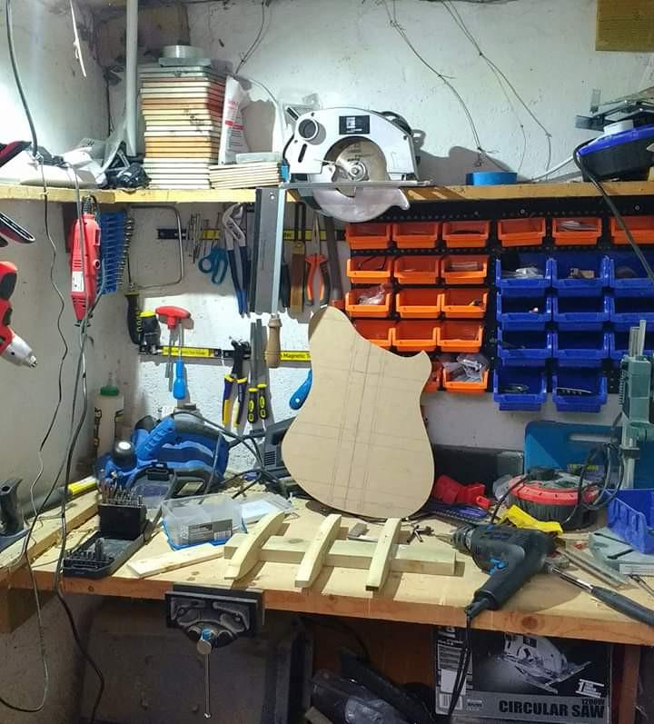The Tardis - Sam's workshop where the magic happens