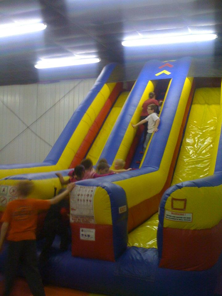 double slide Incredible Inflatables Shawnee