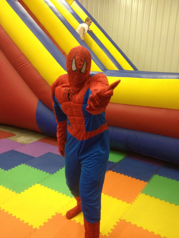 Spidey Incredible Inflatables Shawnee