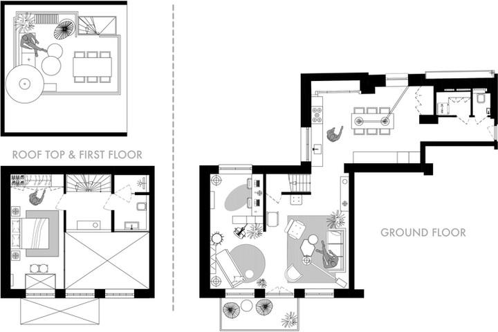 Kinkerbuurt floor plans website Option 4