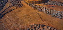 huge-mounds-of-waste-iron-ore-near-the-q