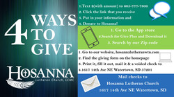 4 ways to give