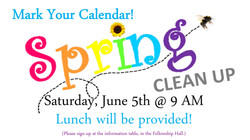 spring clean up 2021