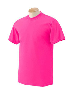 Pink Children First T-Shirt with White Lettering