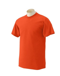 Orange Children 1st T-Shirt with Black Lettering