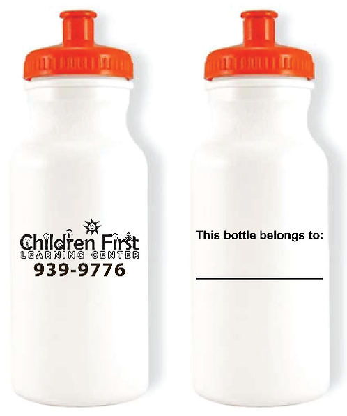 Children First Learning Center Waterbottle