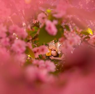 Blake & Mum under a Blossom tree 10 weeks.jpg