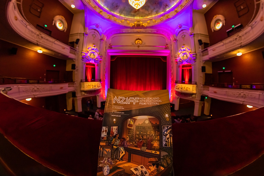 NZ International Film Festival at    The Isaac Theatre Royal