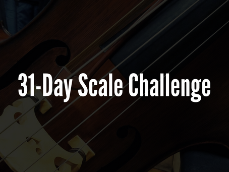 31-Day Scale Challenge