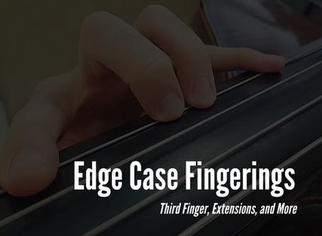 Edge Case Fingerings