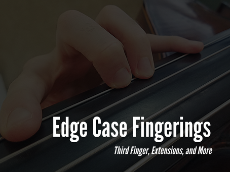 Edge Case Fingerings