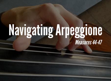Navigating Arpeggione: MM. 44-47