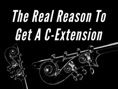 The Real Reason To Get A C-Extension