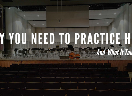 Why You Need To Practice In The Concert Hall