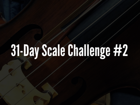 31-Day Scale Challenge #2