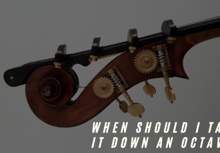 When Should I Take It Down An Octave?