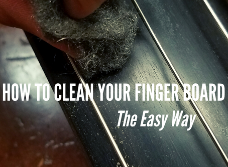 How To Clean Your Fingerboard