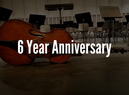 6 Year Anniversary
