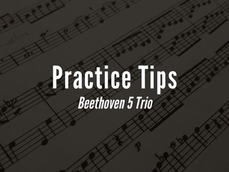 Practice Tips: Beethoven 5