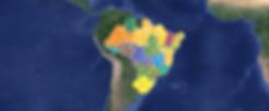 Mapa Brasil Dia Mundial da Limpeza - ago