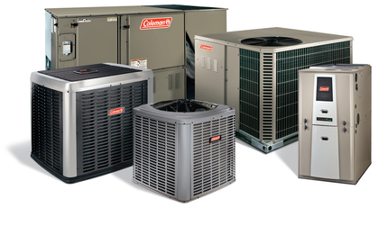 Coleman furnaces and air conditioners