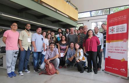 Santander apoia microempreendimentos de refugiados
