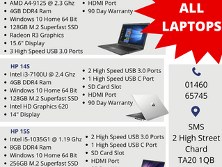 10% off Laptops!