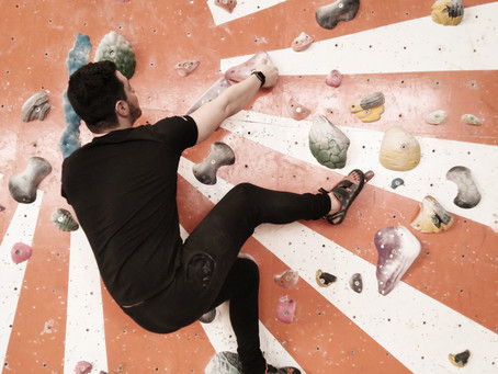 Supporting Youth into Climbing.