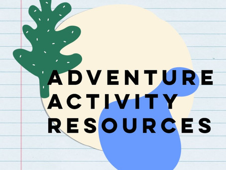 Adventure Activity Resources