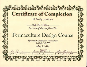 Permaculture Design Certificate - Green