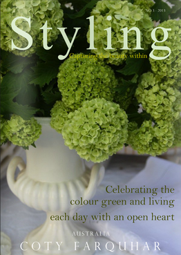 Styling Magazine Australia - The Green Issue