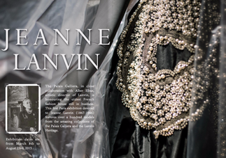 JEANNE LANVIN - HONOURING THE OLDEST FRENCH FASHION HOUSE STILL IN BUSINESS TODAY
