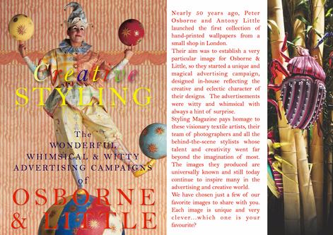 OSBORNE & LITTLE - 50 YEARS OF CREATIVE STYLING