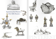 STYLING WITH SILVER TABLE TREASURES - INSPIRATION FROM PINTEREST