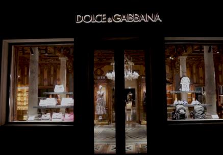 DOLCE & GABBANA - WINDOW DISPLAY & INSTALLATIONS