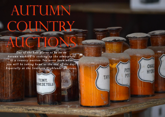 AUTUMN COUNTRY AUCTIONS, HELD IN THE GROUNDS OF DIRTY JANES EMPORIUM IN THE SOUTHERN HIGHLANDS