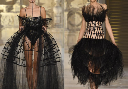 GUO PEI - L'architecture - COUTURE COLLECTION FALL - WINTER 2018- 2019