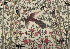 THE TREE OF LIFE - HAND PAINTED CHINTZ - TEXTILES & FABRIC ISSUE - STYLING NO.25