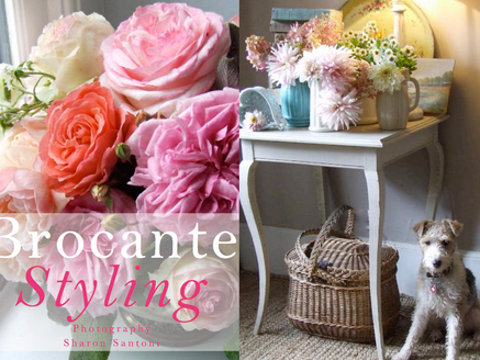 Brocante Styling - Sharon Santoni of My French Country Home