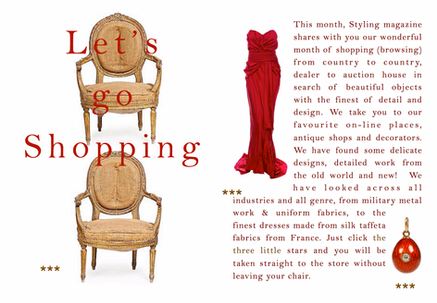 Shopping Pages - Styling Magazine