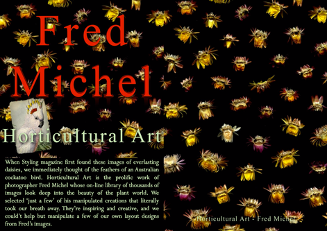 FRED MICHEL - HORTICULTURAL ART