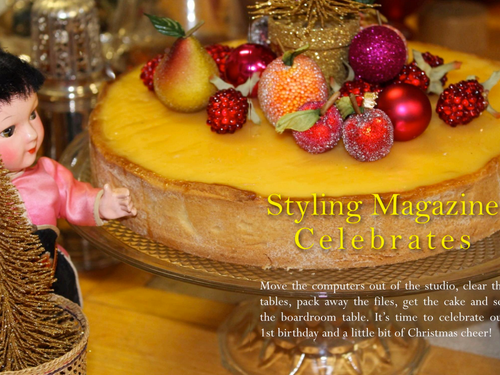 STYLING MAGAZINE WISHES YOU ALL A WONDERFUL FESTIVE SEASON