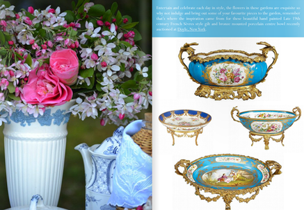 Springtime Entertaining...Pink and Blue