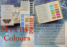 MIXING COLOURS - Traité des couleurs servant à la peinture a l'eau - 800 page book on mixing pai