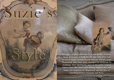 Suzie Anderson - Decorator, Stylist & Event specialist  - Home and Garden in the Southern Highla