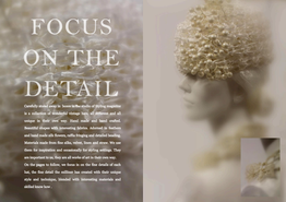 Styling Hats - Focus on the detail