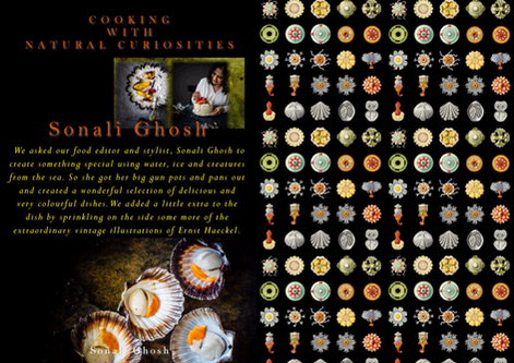 STYLING MAGAZINE - COOKING WITH NATURAL CURIOSITIES - ERNST HAECKEL & FOOD STYLIST SONALI GHOSH
