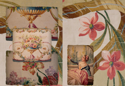 AUBUSSON, FRANCE - 19TH CENTURY TAPESTRY CARTOONS