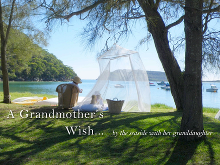 Pittwater Blues - A Grandmother's Wish...spending one on one time with her young granddaughter