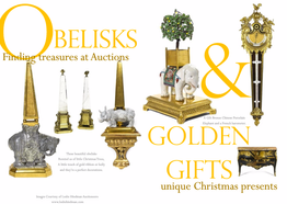 Obelisks & Golden Gifts - Finding treasures at Auctions